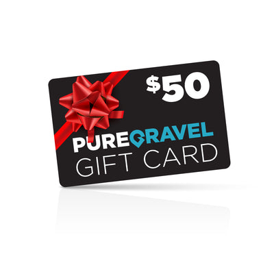 pure gravel $50 gift card
