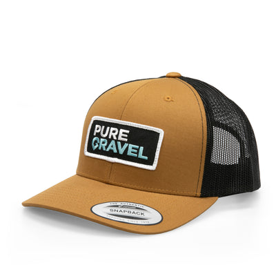 Pure Gravel patch hat: putrid seagull