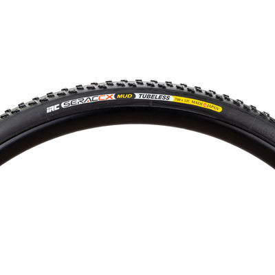 IRC SeracCX Mud bicycle tire sideview
