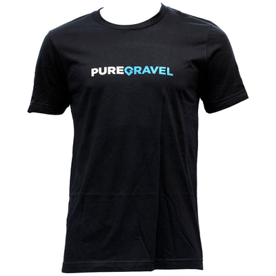 Pure Gravel t-shirt in black