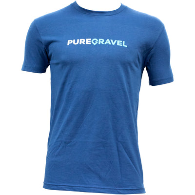 Pure Gravel t-shirt in blue