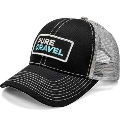 Pure Gravel patch hat: silver bullet