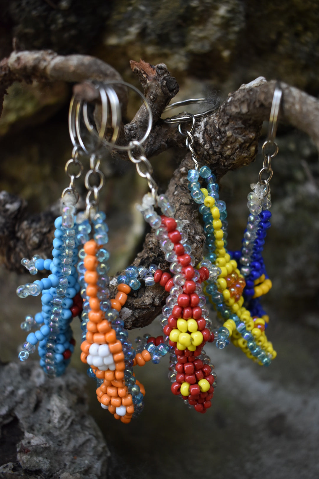 Beads Key Chain Animal