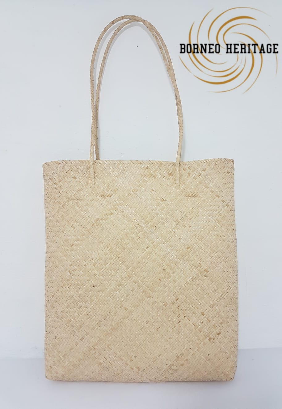 Natural Rattan Tote Bag