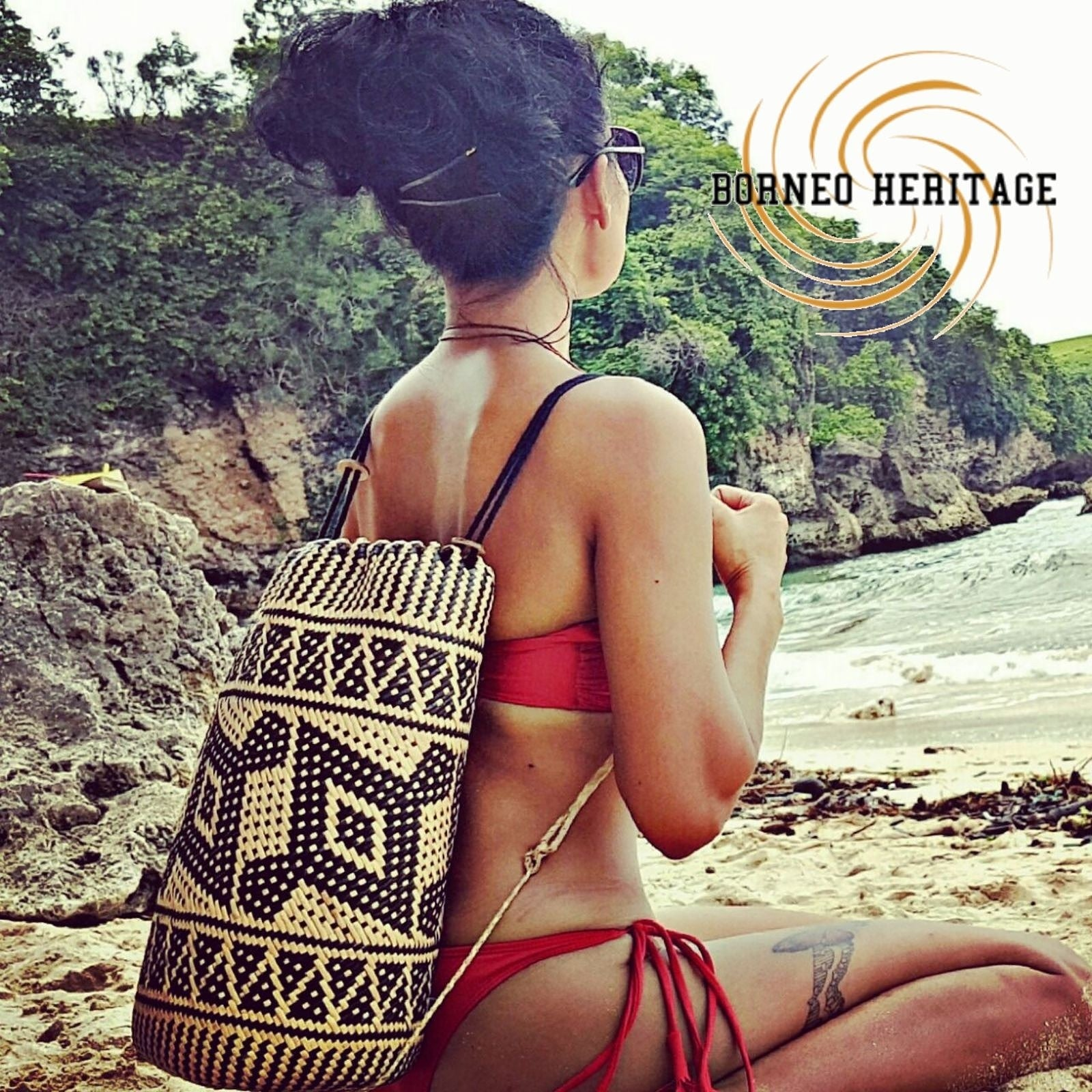 Anjat Tribal Backpack