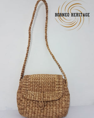 Sling Bag Water Hyacinth