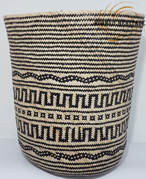 Tribal Rattan Basket