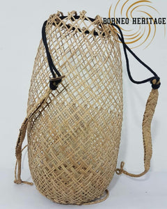 Rattan Plain Backpack