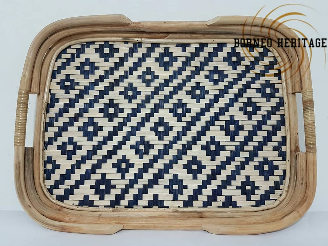 Square Bamboo Tray