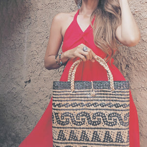 Tribal Purun Tote Bag
