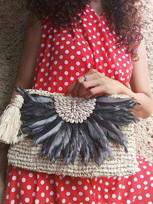 Feather Clutch Shells