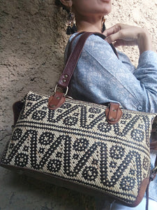 Tribal Leather Bag