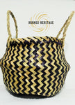 Mini Chevron Basket