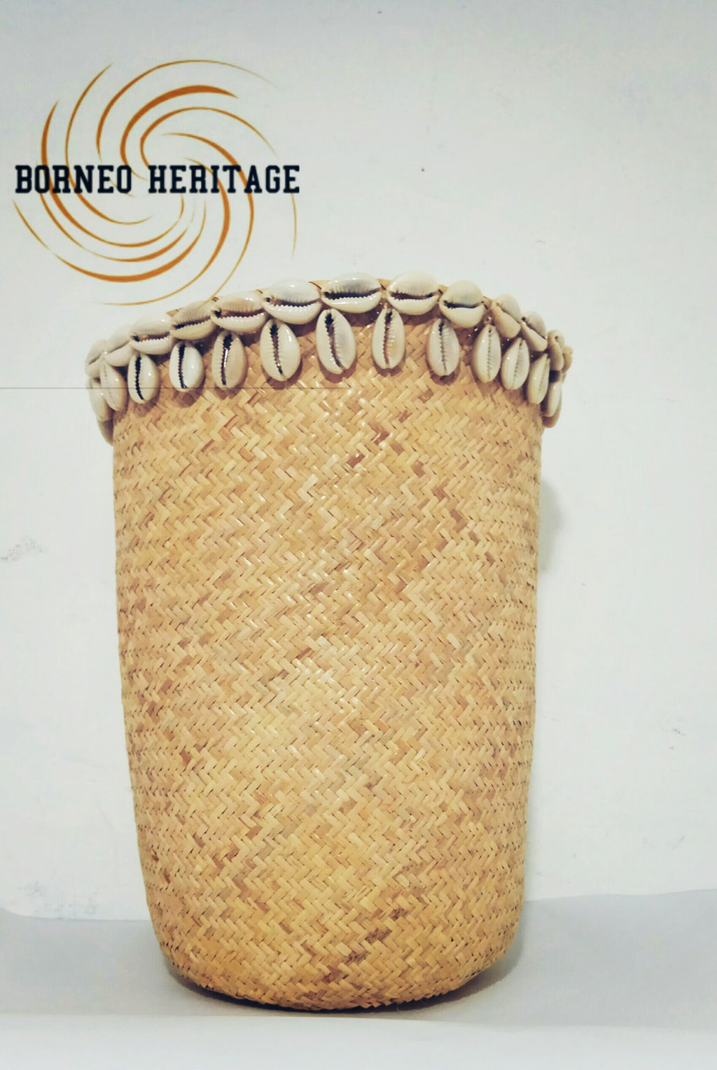 Rattan Shells Basket