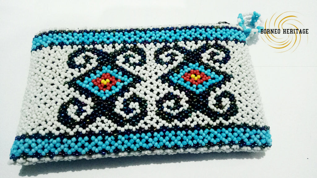Tribal Beaded Wallet