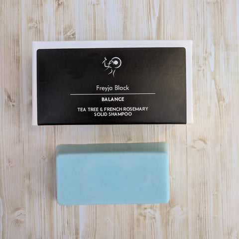 Freyja Black Solid Shampoo Bar Balance