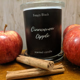 Freyja Black Cinnamon Apple Scented Candle