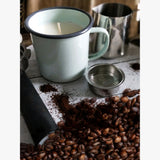 Fresh Coffee Scented Candle in Enamel Mug