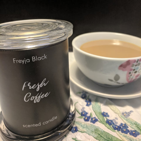 Fresh Coffee Scented Candle