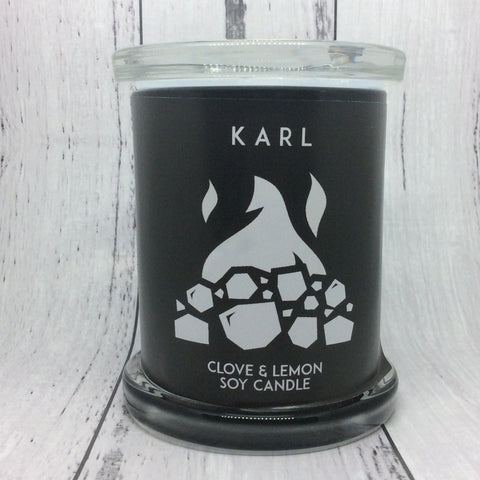 Karl Soy Wax Candle