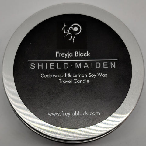 Travel Candle - Shield Maiden