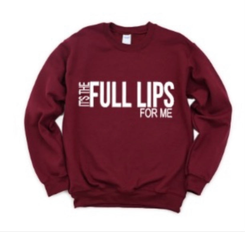 FULL LIPS Sweatshirt