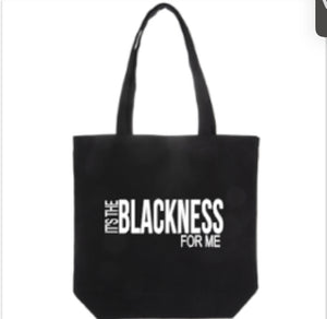 BLACKNESS Tote bag