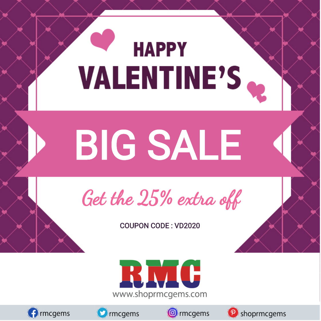 Get the 25% extra off On This Valentine's Day!