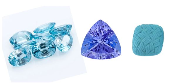 December's Birthstone: Zircon, Tanzanite & Turquoise