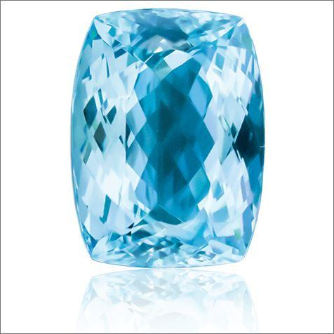 MARCH BIRTHSTONE : AQUAMARINE