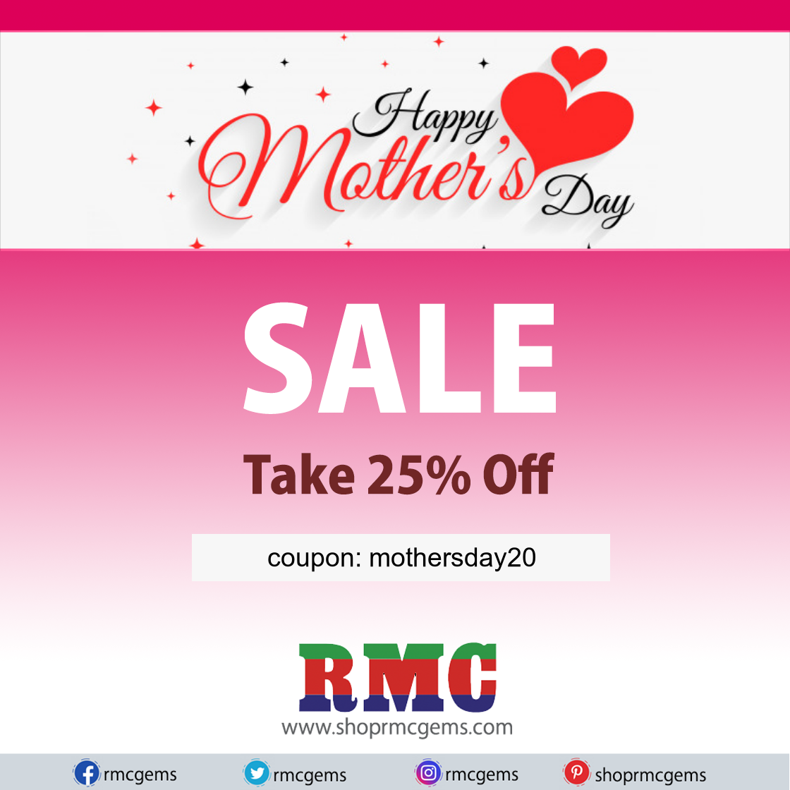 Mother's Day: Take 25% Off Select Gemstones