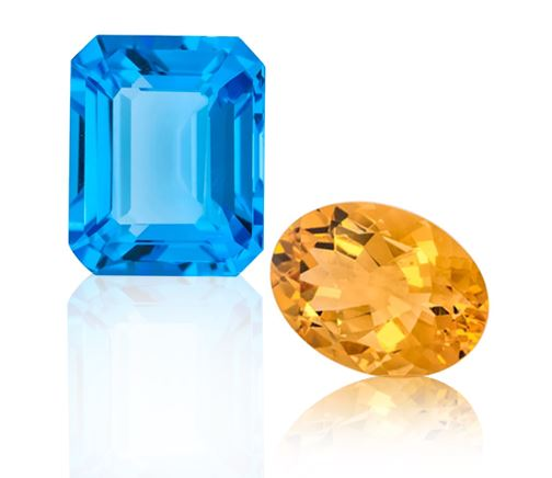 November Birthstone - Citrine and Topaz