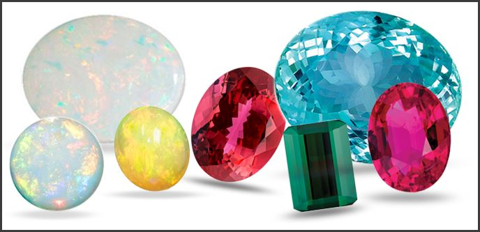 October Birthstone: Tourmaline and Opal