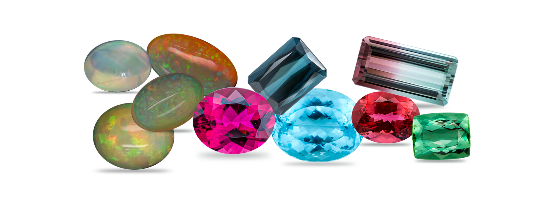 Individuals born in October get to choose between two birthstones — tourmaline and opal