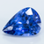 Sparkling Loupe Clean Blue Sapphire - 5.95 CT Pear