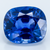 Blue Sapphire 4.65 ct 10X8.80 mm Cushion