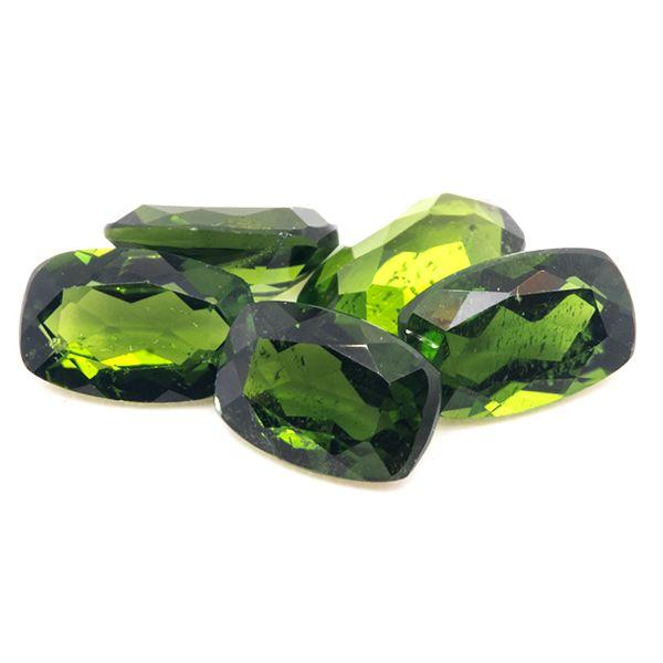 2.50 CT Chrome Diopside Cushion Shape 6x4 MM - shoprmcgems