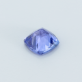 Brilliant Vivid Tanzanite 0.78 CTs. Cushion Cut 5.50MM - Tanzania - shoprmcgems