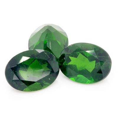 3.92 CT Chrome Diopside Oval Shape 8x6 MM - shoprmcgems