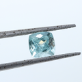1.08 CT Paraiba Tourmaline 6.30 MM Cushion Cut