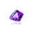 Amethyst 17.98 Ct 20.5X19.4 MM Fancy Checkerboard Cut - shoprmcgems