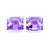 Amethyst 3.29 Ct 7 MM Square Fancy Checkerboard - shoprmcgems