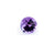 Amethyst 10 MM Round Fancy 3.10 Ct Checkerboard - shoprmcgems