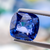 Sparkling Natural Blue Sapphire 4.95 ct Cushion 9.8x9.57x5.10 mm