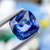 Sparkling Natural Ceylon Blue Sapphire 4.95 ct Cushion 9.8x9.57x5.10 mm - shoprmcgems