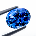 Shining Natural Blue Sapphire 4.37 ct  - Sri Lanka 11.24x9.03x5.57 mm Oval - shoprmcgems