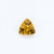 Citrine 1.82 CT 9 MM Trillion Concave Checkerboard Cut - shoprmcgems