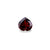 Garnet Natural 2.93 ct 9 mm Heart cut - shoprmcgems