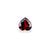 Garnet Natural 4.02 ct 10 mm Heart Cut - shoprmcgems