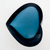 London Blue Topaz 100.95 CT 27.5X33.7X13 MM Heart Shape Cabochons